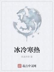 《冰冷寒热》小说封面