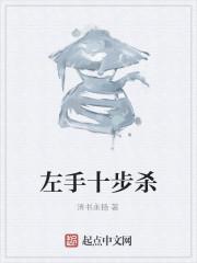 《左手十步杀》小说封面