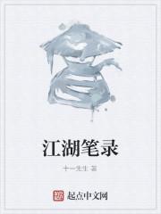 《江湖笔录》作者:十一先生