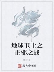 《地球卫士之正邪之战》小说封面