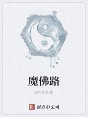 《魔佛路》小说封面