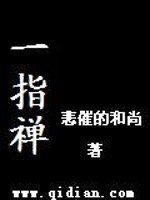 《一指禅》小说封面