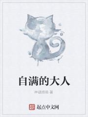 《自满的大人》小说封面
