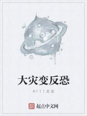 《大灾变反恐》小说封面