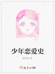 《少年恋爱史》小说封面
