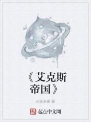 《《艾克斯帝国》小说封面