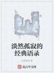 《淡然孤寂的经典语录》作者:云端望海