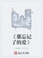 《《那忘记了的爱》》作者:山茶花.QD