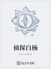 《侦探白杨》作者:风追少年郎
