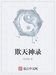 《欺天神录》作者:青峰雨