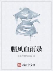 《腥风血雨录》作者:提笔挥墨写江山
